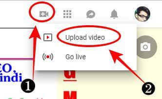youtube पे video upload कैसे करे