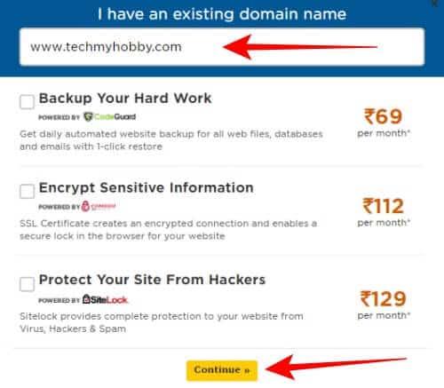 domain name dale hostgator hosting lene ke liye