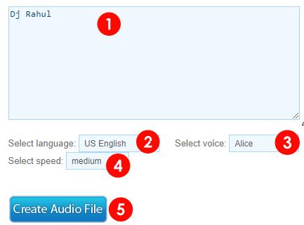 dj name maker online se dj voice kaise banaye