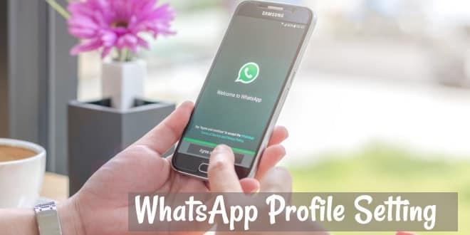 whatsapp profile pic dp kaise change kare