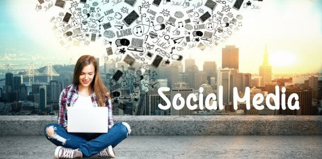 se social media to increase blog traffic
